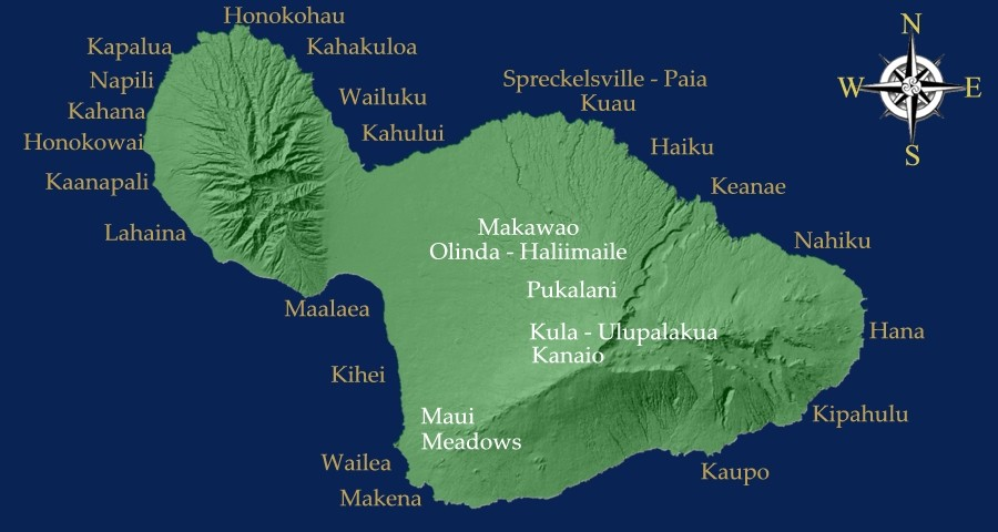 Best instagram locations on Maui
