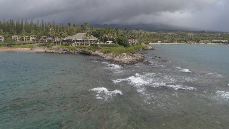 Merriman's Kapalua Drone Shot