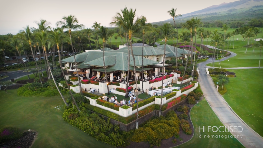 Gannon's Wailea Maui Wedding Reception