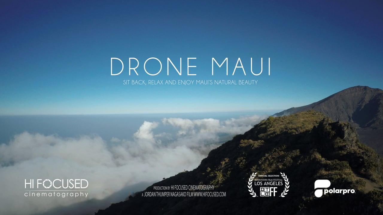 Drone Maui in 4K