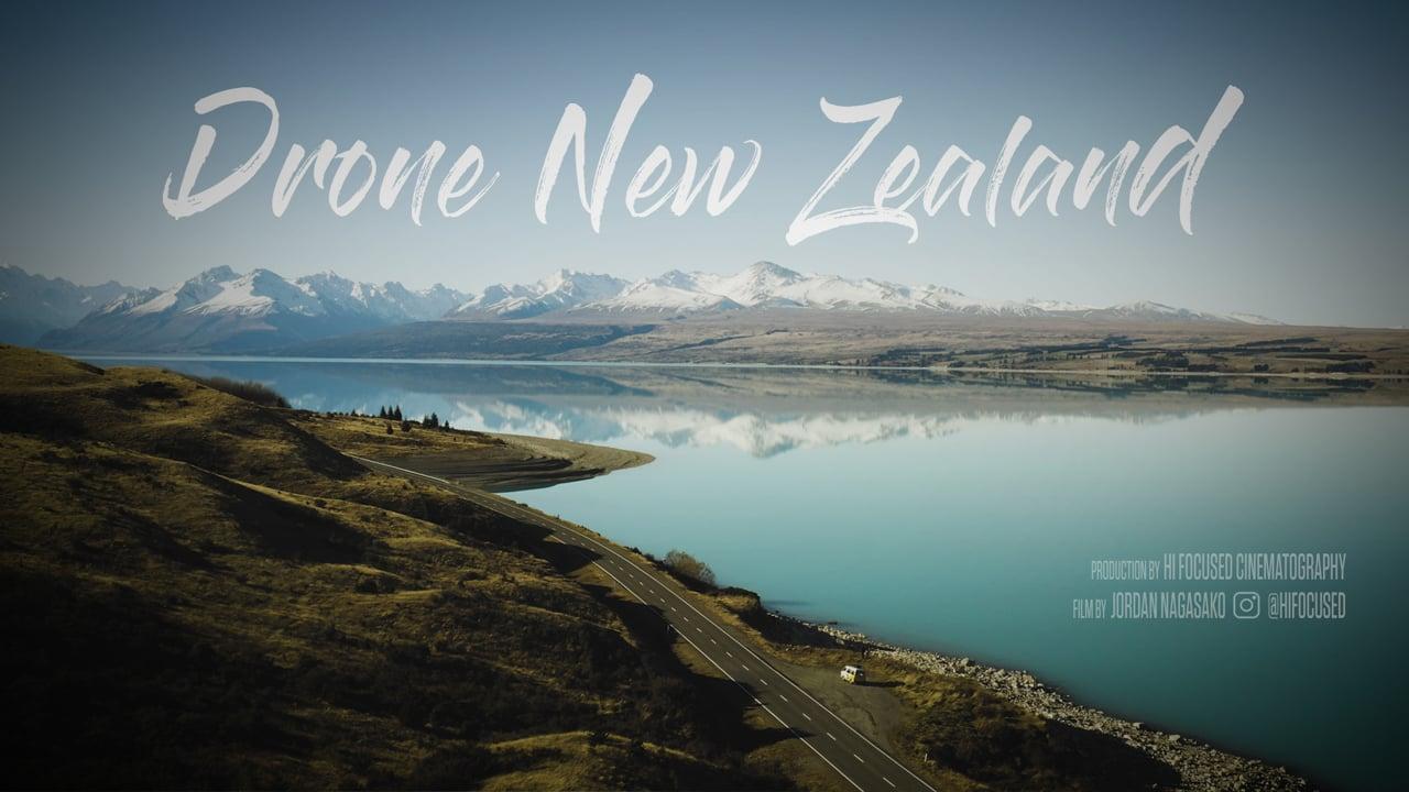 New Zealand Drone