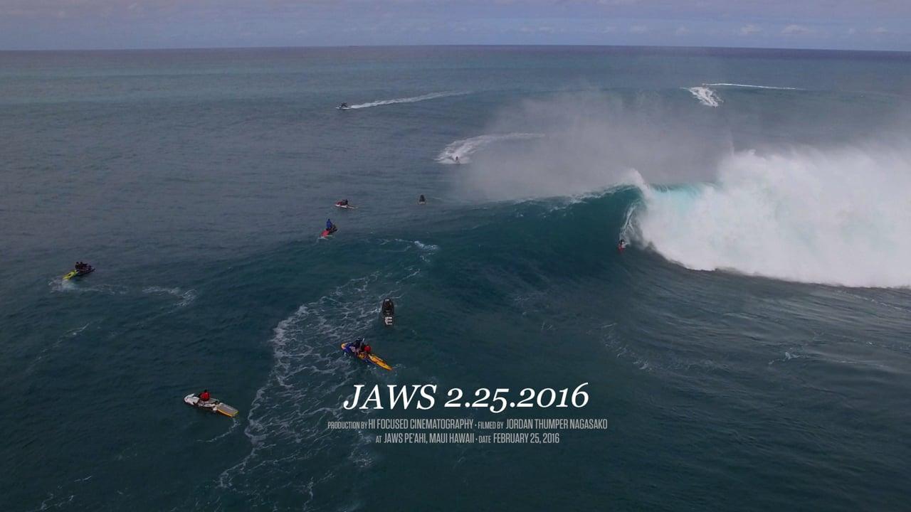 Jaws Pe'Ahi, Maui Hawaii