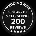 Wedding Wire Award 5 star service