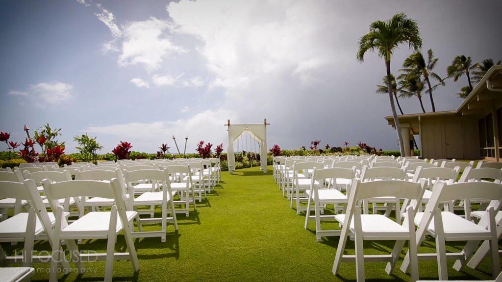 The Royal Lahaina Wedding Ceremony